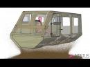 Mine blast simulation TARDEC generic vehicle hull
