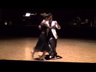 Serkan Gökçesu & Cecilia Garcia 1 - Tango Tage Leipzig 2015
