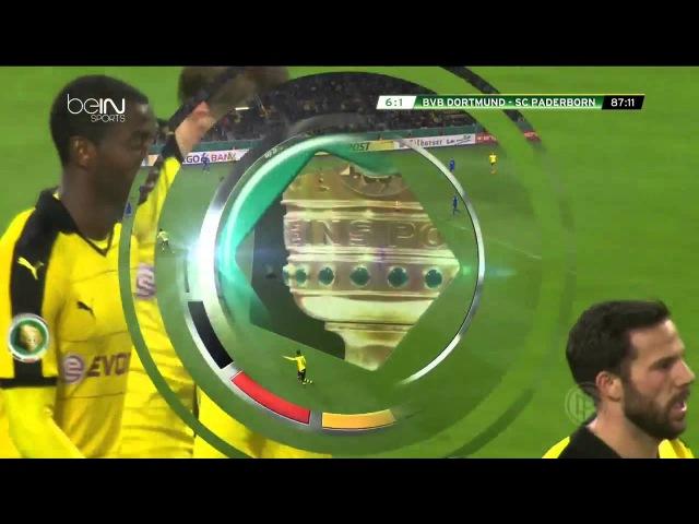 Piszczek Goal 6 1 Borussia Dortmund SC Paderborn DFB Pokal 28 10 2015