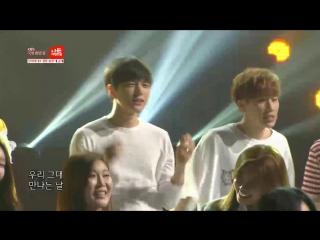 [video] 150515 chanyeol, chen & baekhyun @ <i am korean> theme song mv filming stream