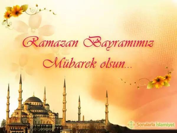 Открытка с ураза байрамом на турецком, день рождения открытка