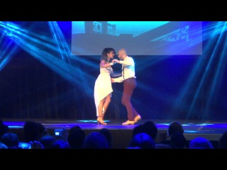 "Bachata show ""Titanic"" with Ataca y La Alemana at PBF 2013"