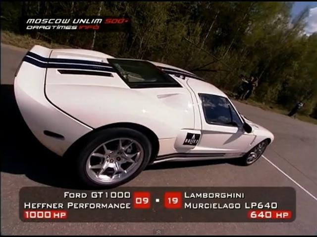 Ford GT40 Heffner GT1000 vs Lamborghini Murcielago LP640