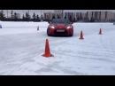Первые попытки зимнего парного дрифта в Казани