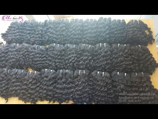 BEST QUALITY- SUPER DOUBLE CURLY WEAVE HAIR