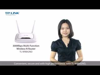 Обзор беспроводного WiFi роутера TP-Link TL-WR842ND