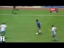 Диего Марадона Аргентина - Англия 1986 год