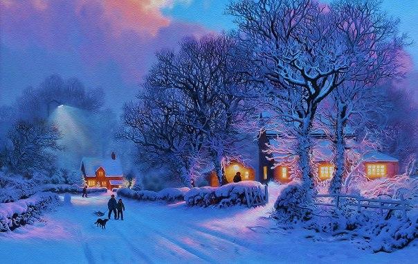 Красивые Обои Зима 2020