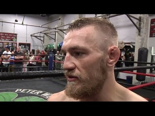 Conor McGregor shows reception against all opponents
