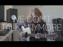 Charlie Puth ft. Selena Gomez - We Don't Talk Anymore - Fingerstyle Cover By James Bartholomew