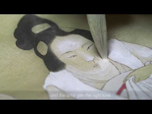 How was it made Silk Painting