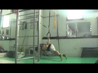 *Deu* - One Arm Back Lever PULL UP - New strength element