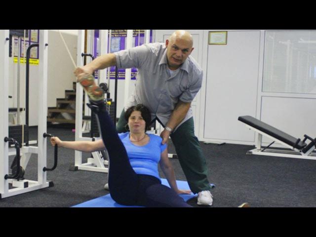 Упражнения для похудения бубновского
