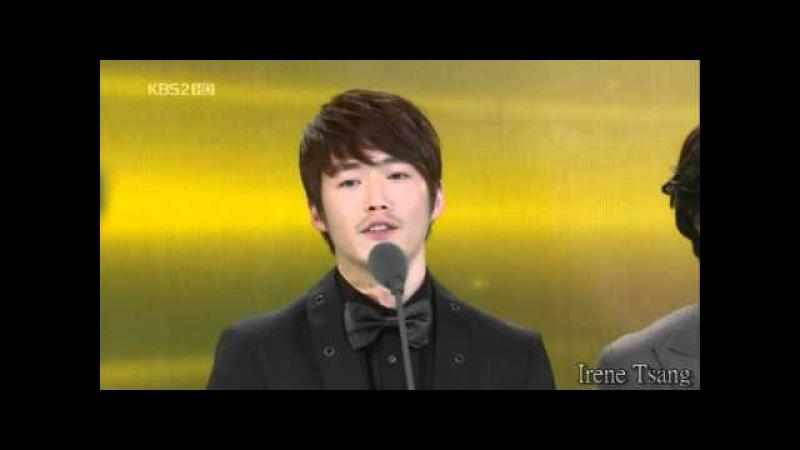 2010KBS연기대상 《KBS演技大賞》KBS Drama Awards 장혁 張赫 Jang Hyuk