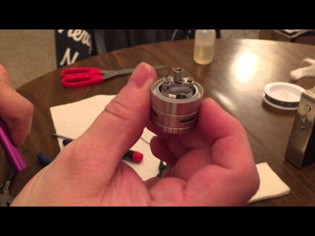 SMOK TFV4 Vertical Coil Build