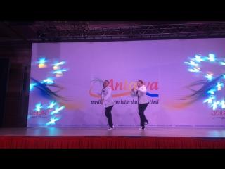 Alexis & jazzy ruiz show, antalya dance festival 2016