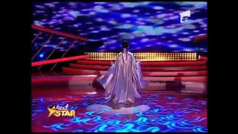 Andreea Tucaliuc număr extraordinar de contorsionism pe scena Next Star