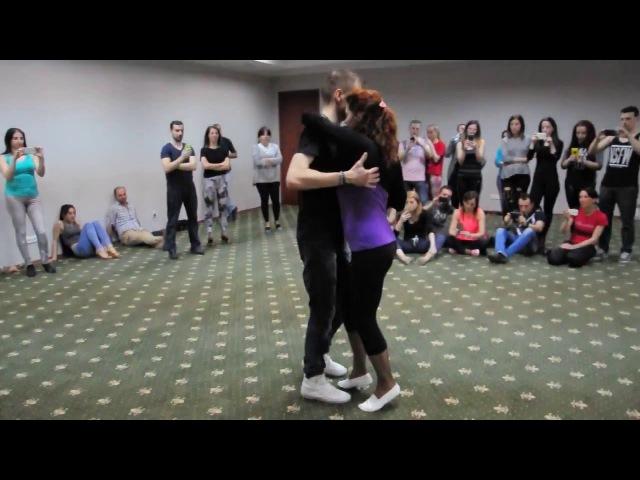 Andrei Zhulid Kris, kizomba workshop. Tbilisi International Dance Festival 2016