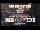 Aira Deathstorm Drum Cam FIEND Live At The Gates of Gahhala
