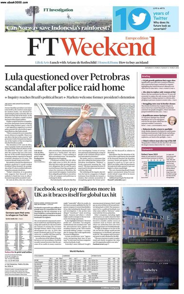 Financial Times Europe March 05 06 2016