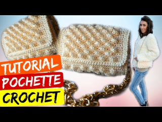 Tutorial facile | Pochette Nocciolina crochet | Katy Handmade