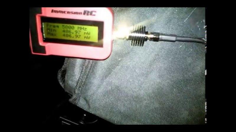 5.8gHZ test transmitter 600mw TS832 BangGood 2