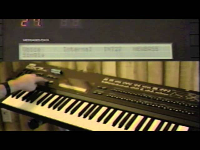 The Yamaha DX7 II FD D Video Manual by The N Y School of Synthesis