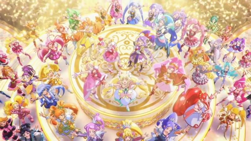 プリキュアオールスターズ みんなで歌う♪奇跡の魔法! エンディング みんながいるから☆プリキュアオールスターズ