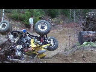 Brutal ATV Crash And  Fails  Compilation 2016! []