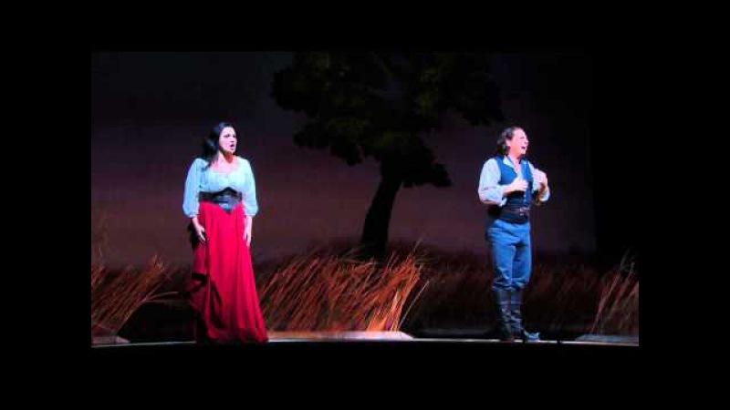 L'Elisir d'Amore: Act II Duet -- Matthew Polenzani Anna Netrebko (Met Opera)