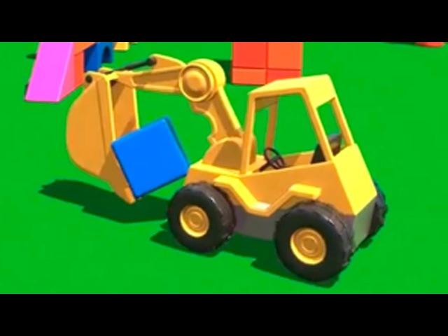 Cartoon für Kinder Dodo der Bagger Würfel
