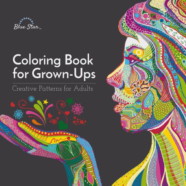 Coloring Book for Grown Ups - Creative Patterns for Adults