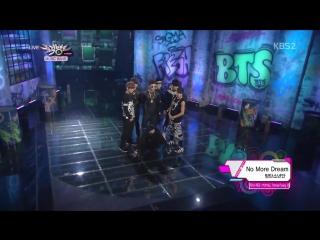 (130614)(HD) BTS ⁄ BANGTAN BOYS - We Are Bulletproof + No More Dream (Hot Debut Stage)