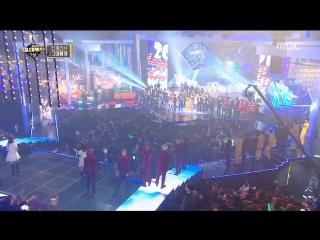 [VIDEO] 170101 #EXO #Xiumin @ MBC Gayo Daejejeon