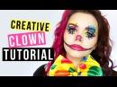 CREATIVE CLOWN - Makeup Tutorial - Kostümidee für Karneval/Fasching ❤