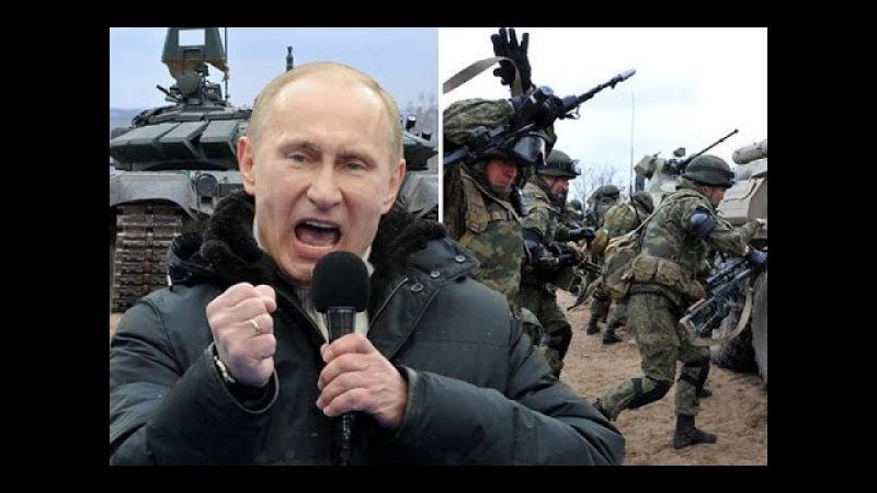 RUSIJA ODGOVORILA NATO u Putin pobesneo i poslao 340 000 vojnika i 1 500 oklopnih vozila na granicu