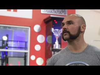 """#My1 """"Your goal should be to be as good as me, it will never happen"""" - Scott Dawson on training for WWE"""
