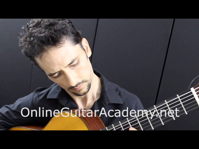 The Four Seasons, Summer, 1st mvt, A.Vivaldi (solo classical guitar arrangement by Emre Sabuncuoglu)