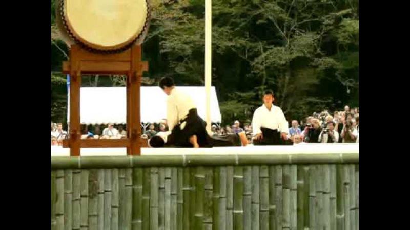 Démonstration de Waka Sensei - Tanabe 2008