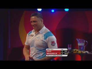 Gerwin Price vs Willard Bruguier (PDC US Darts Masters 2017 / Round 1)
