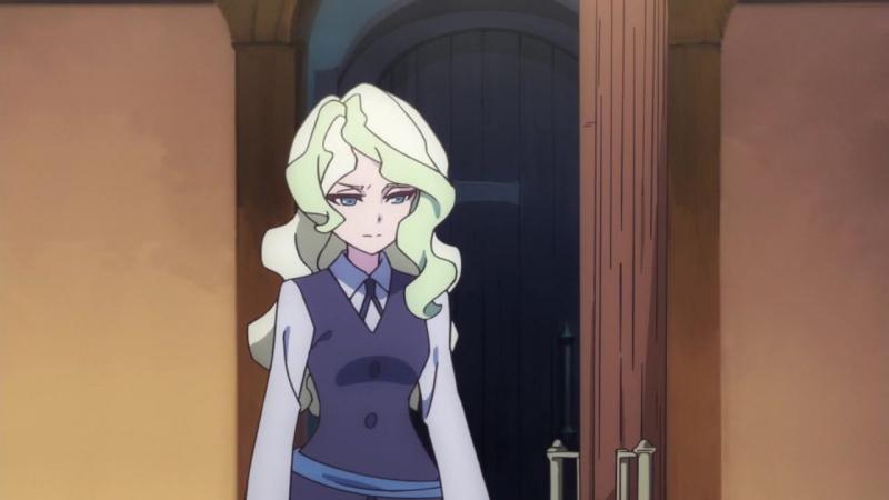 Little Witch Academia TV Академия Ведьмочек 23 серия Озвучка Lupin Amikiri Itashi Aemi AniLibria MVO