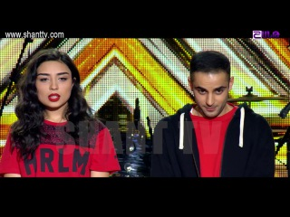 X-Factor4 Armenia-4 Chair Challenge-Garik-Groups-Emanuel-Mariam-Eminem & Rihanna