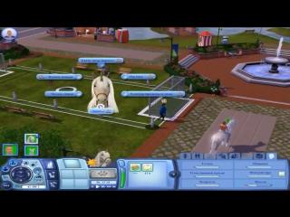 Саша Спилберг - Детка геймер #1 Let's Play Sims 3 (1 часть)