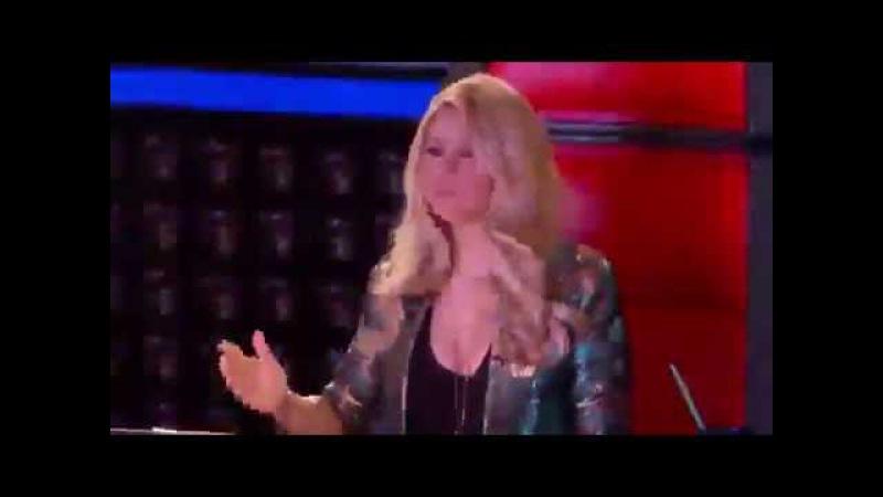 Knockouts: Monique Abbadie vs. Karina Iglesias vs. Monique Abbadie - The Voice Highlight