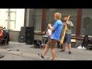 Уличная музыка.Квартет Sasha Grace