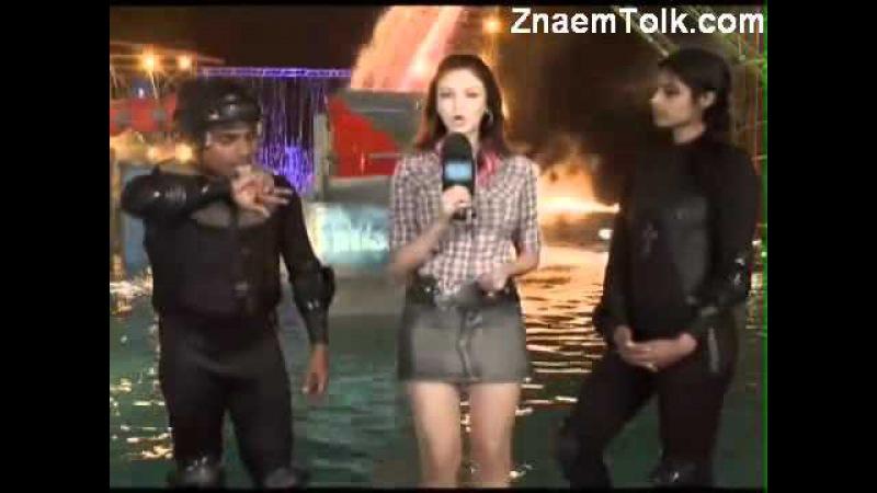 ✔Водное шоу 22 фев эпиз 16 часть 5 Zor Ka Jhatka Total Wipeout 2011 г