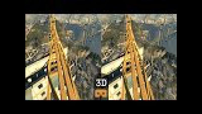 VR Acrophobia 3D Jump from Crane Google Cardboard VR Box Virtual Reality Video 3D SBS