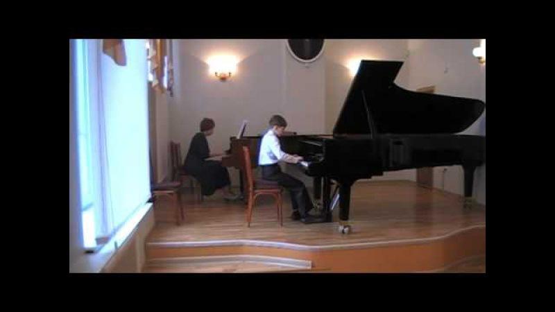 Ю Полунин Концертино для фортепиано и струнного оркестра Константин Шоломицк
