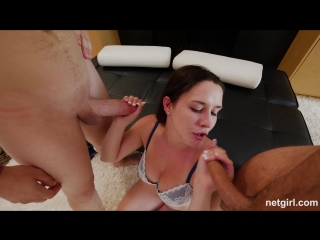 Michelle [2017, anal, casting, threesome mmf, ass licking, ball licking, swallow, cum in mouth, cum in ass, hd 1080p]
