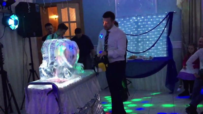 Ледяное шоу от MariaCrystalIce 7-905-204-77-53 icesculpture weddingshow